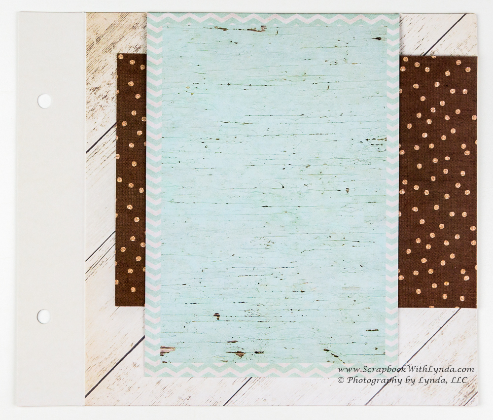 Gate Fold Flap Addition Scrapbook With Lynda